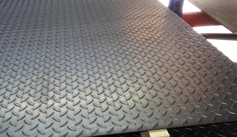 Рифлёный металлический лист
